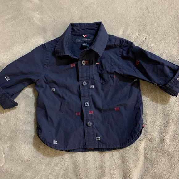 Tommy Hilfiger Other - 3-6M Tommy Hilfiger Button Down
